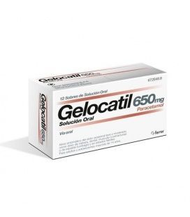 Gelocatil 650 Mg 12 Sobres Solución Oral