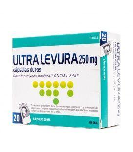Ultra-Levadura 250 Mg 20 Capsulas (Blister) Probiotico