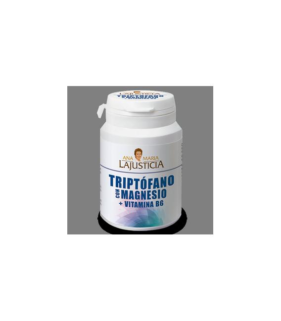 Triptófano con Magnesio y Vitamina B6 60 Comprimidos Ana María la Justicia