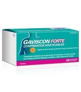 Gaviscon Forte 48 Comprimidos Masticables