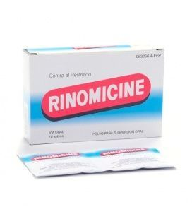 Rinomicine Sobres 10 Sobres Suspension Oral