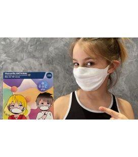 Mascarilla Lavable Reutilizable Mask Plus Niños 6-12 AÑOS