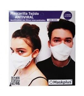 Mascarilla Lavable Reutilizable MASK PLUS Adultos
