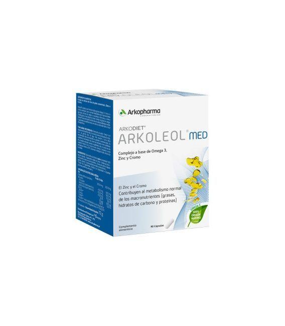 Arkoleol Metaboliza Las Grasas 90 Cápsulas