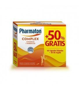 Pharmaton Complex Promo 60+30 Cápsulas GRATIS