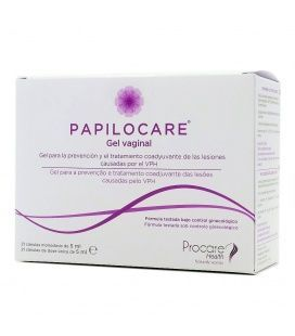Papilocare Gel Vaginal 21 Cánulas 5 ml