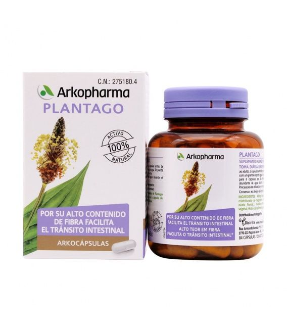 Arkocápsulas Plantago 84 Cápsulas