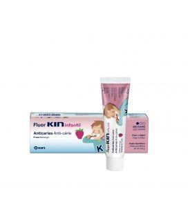 Fluor Kin Infantil Pasta Dentífrica Fresa 75 ml