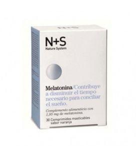 NS Melatonina Naranja 1.95 mg 30 Comprimidos Masticables
