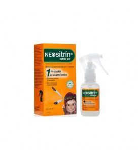 Neositrin 100% Spray Antipiojos Gel Liquido 60 ml