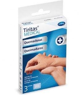 Tiritas Medical Quemaduras 4.5 X 6.5 cm 3 Unidades
