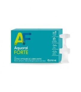 Aquoral Forte Con Acido Hialurónico 0.4% Gotas Oftálmicas