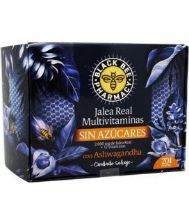 Black Bee Pharmacy Jalea Multivitaminas ASHWAGANDHA 20 Ampollas