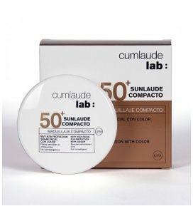 Sunlaude Compacto SPF 50+ Color Tono 02 Medio