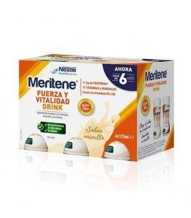 Meritene Drink Vainilla Pack 6X125 ml