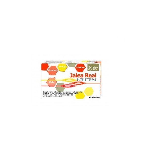 Jalea Real Intelectum Con Fósforo Ampollas Bebibles