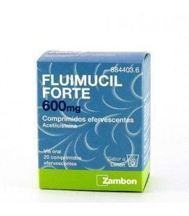 Fluimucil Forte 600 Mg 20 Comprimidos Efervescente