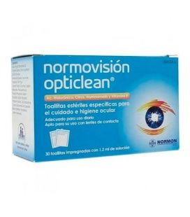 Normovision Opticlean 30 Toallitas