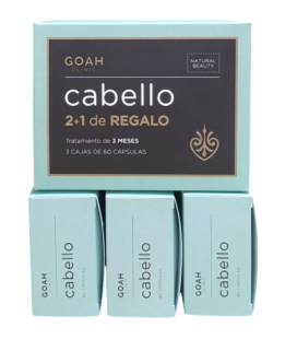 Goah Clinic Cabello Pack 3 Meses