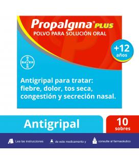 Propalgina Plus 10 Sobres Solución Oral