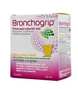 Bronchogrip 10 Sobres Polvo Para Solución Oral
