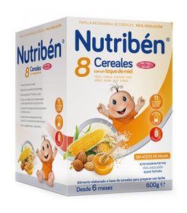 Papillas - Nutriben 8 Cereales Miel Frutos Secos