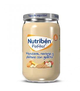 Nutriben Manzana Naranja Platano Galleta 235G