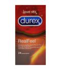 Durex Real Feel Preservativo Sin Latex 24 U