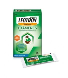 Leotron Exámenes 20 Sobres Bucodispersables Angelini