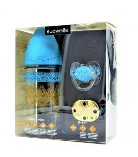 Set Suavinex Couture Biberon + Broche