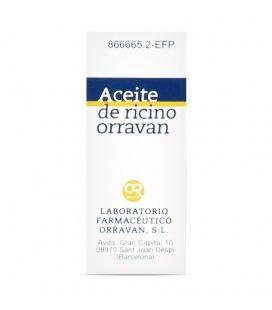 Aceite Ricino Orravan 1 G/Ml Liquido Oral 1 Frasco