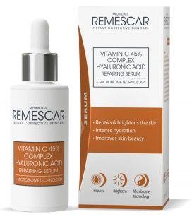 Remescar Vitamina C Acido Hialuronico Serum Reparador