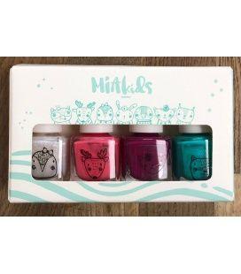 Mia Cosmetics Nails Kids Pack Navidad 2020