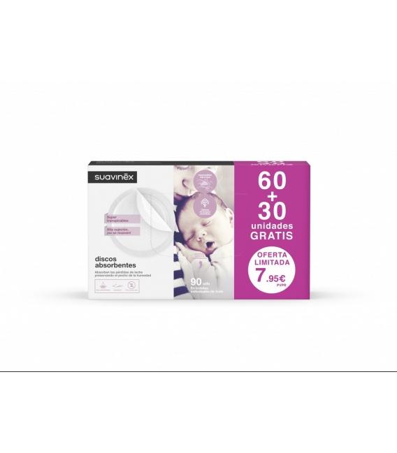 Suavinex Discos Absorbentes 60+30