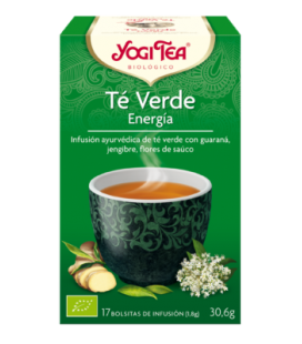 Yogi Tea Verde Energia