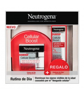 Neutrogena Cellular Boost Crema Noche 50ML + Contorno de REGALO