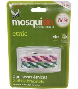 Mosquisin Pulsera Etnica 2 Unidades