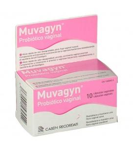 Muvagyn Probiotico Vaginal 10 Caps Vaginales