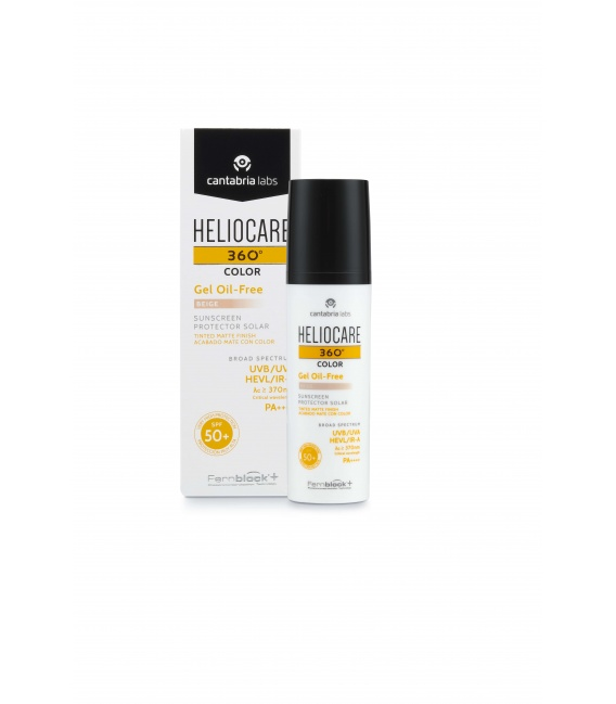 Heliocare 360º Color gel Oil Free SPF 50+ Beige