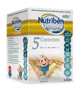 Nutriben Innova 5 Cereales 600 gramos