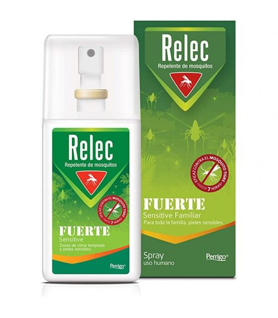 Relec Fuerte Sensitive Spray Repelente Mosquitos