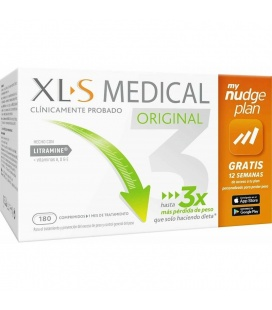 Xls Medical Captagrasas 180 Nudge Comprimidos
