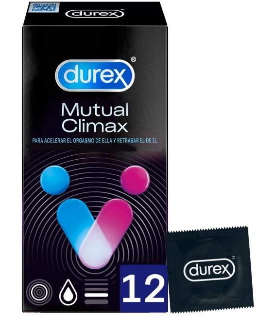 Durex Mutual Climax Preservativos 12 Unidades