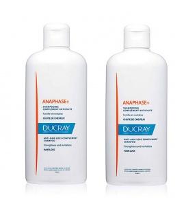 Pack Ducray Champú Anaphase Estimulante Anticaída 400+400 ml 40% dto en la segunda Unidad