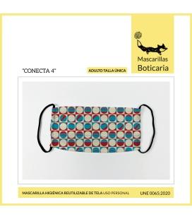Mascarilla Boticaria CONECTA 4 (ADULTO)
