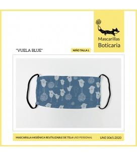 MASCARILLA BOTICARIA VUELA BLUE (INFANTIL TALLA L)