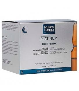 Martiderm Platinum Night Renew Ampollas 30 Uds