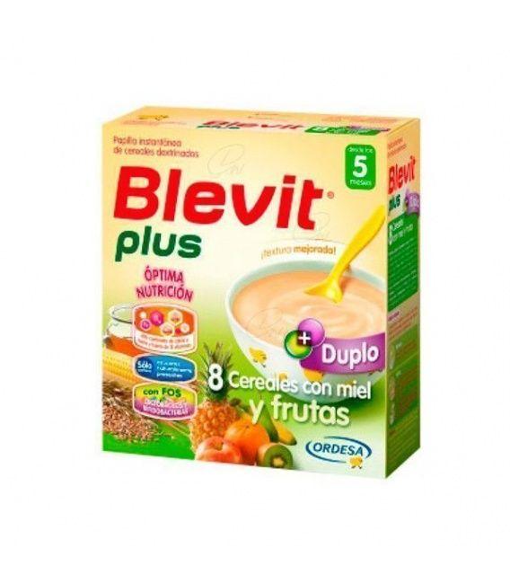 Papillas - Blevit Duplo 8 Cereales+miel+frutas