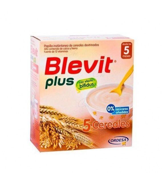 Papillas - Blevit Plus 5 Cereales 700 Gr