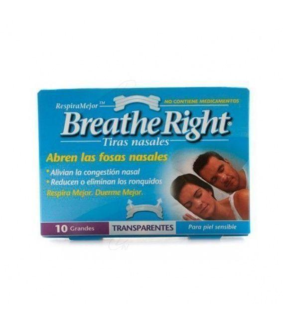 TIRA NASAL MED GDE TRANSPA BREATHE RIGHT